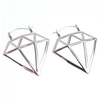 Orecchini INOX - 20G DIAMOND, INOX