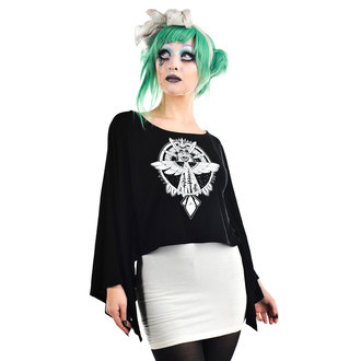 T-shirt gotica e punk donna - COVEN CAPE - TOO FAST, TOO FAST