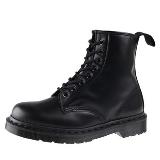 stivali in pelle donna unisex - DM 1460 MONO BLACK SMOOTH - Dr. Martens, Dr. Martens