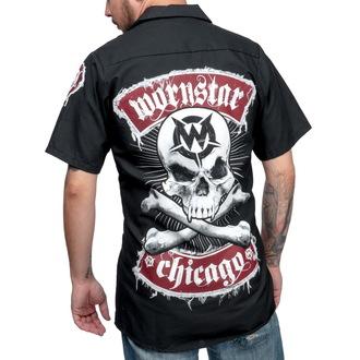 camicia da uomo WORNSTAR - Skull, WORNSTAR