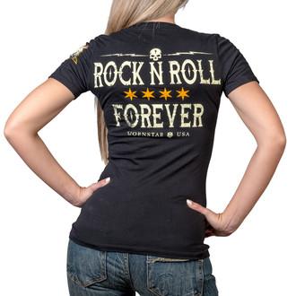 t-shirt hardcore donna - Rock N Roll Forever - WORNSTAR, WORNSTAR