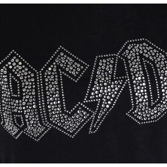 t-shirt metal donna AC-DC - Logo - ROCK OFF, ROCK OFF, AC-DC