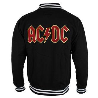 felpa senza cappuccio uomo AC-DC - Classic Logo - ROCK OFF, ROCK OFF, AC-DC