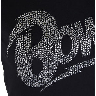 t-shirt metal donna David Bowie - Flash Logo - ROCK OFF, ROCK OFF, David Bowie