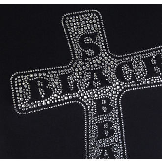 t-shirt metal donna Black Sabbath - Cross - ROCK OFF, ROCK OFF, Black Sabbath