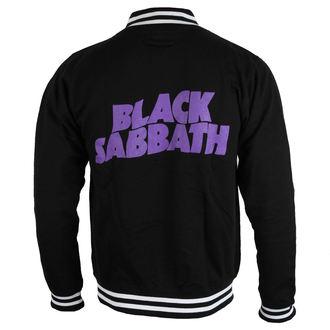 felpa senza cappuccio uomo Black Sabbath - Wavy Logo - ROCK OFF, ROCK OFF, Black Sabbath