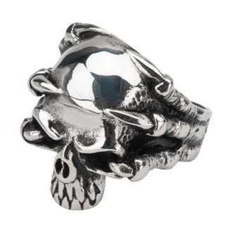 anello INOX - SKULL, INOX