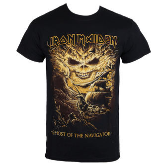 t-shirt metal uomo Iron Maiden - Ghost of the Navigator - ROCK OFF, ROCK OFF, Iron Maiden