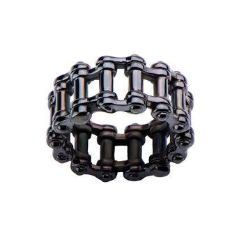 anello INOX - MOTO CHAIN BLACK, INOX
