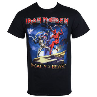 t-shirt metal uomo Iron Maiden - Legacy Beast Fight - ROCK OFF, ROCK OFF, Iron Maiden