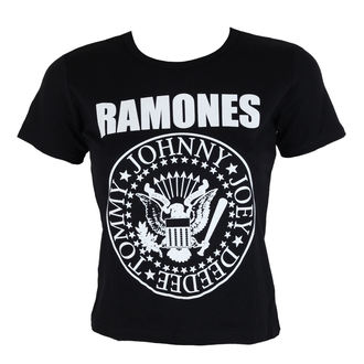 t-shirt metal donna Ramones - Seal - ROCK OFF, ROCK OFF, Ramones
