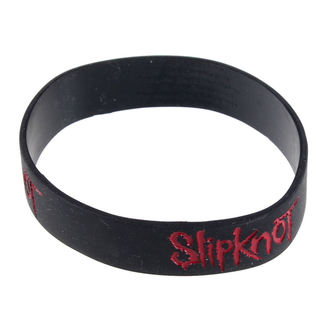 braccialetto Slipknot - Logo - ROCK OFF, ROCK OFF, Slipknot
