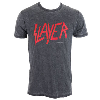 t-shirt metal uomo Slayer - CLASSIC LOGO - ROCK OFF, ROCK OFF, Slayer