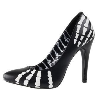 scarpe con il tacco donna - Grave Robber Point - IRON FIST - IFW005103-Black