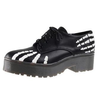 scarpe con cuneo donna - Grave Robber Derby - IRON FIST, IRON FIST