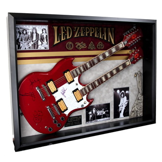 chitarra firmata Led Zeppelin - ANTIQUITIES CALIFORNIA, ANTIQUITIES CALIFORNIA, Led Zeppelin