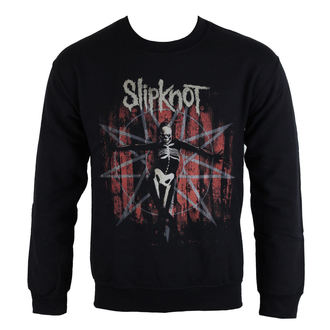 felpa senza cappuccio uomo Slipknot - The Grey Chapter Star - ROCK OFF, ROCK OFF, Slipknot