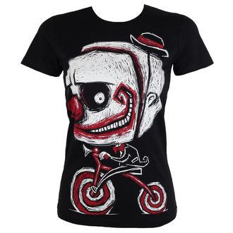 t-shirt hardcore donna - Creep The Clown - Akumu Ink, Akumu Ink
