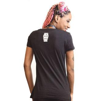 t-shirt hardcore donna - Bone Collector - Akumu Ink, Akumu Ink