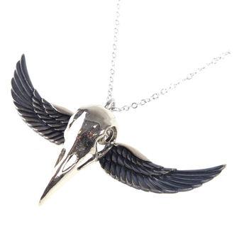 Collana ETNOX - Winged Crow Skull - Argento, ETNOX