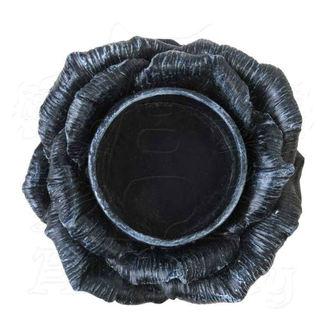 Decorazione (portacandele) ALCHEMY GOTHIC - Black Rose, ALCHEMY GOTHIC