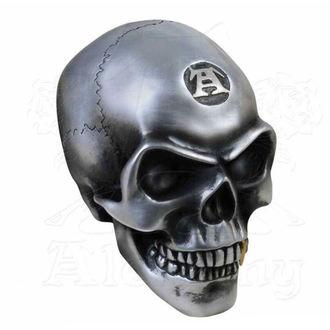 Decorazione (cranio) ALCHEMY GOTHIC - Metalised Alchemist Skull, ALCHEMY GOTHIC