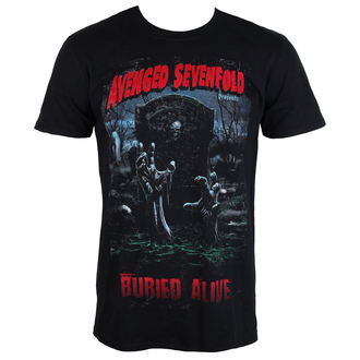 t-shirt metal uomo Avenged Sevenfold - Buried Alive Tour 2012 - ROCK OFF, ROCK OFF, Avenged Sevenfold