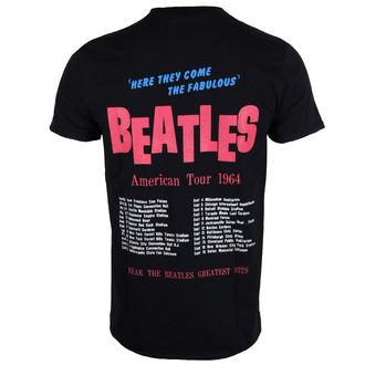 t-shirt metal uomo Beatles - American Tour 1964 - ROCK OFF, ROCK OFF, Beatles