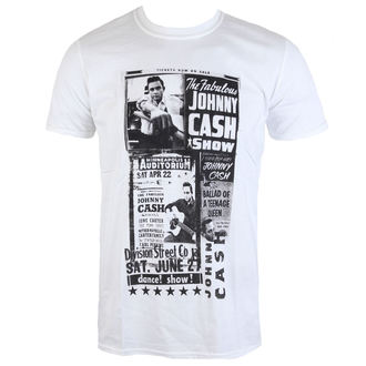 t-shirt metal uomo Johnny Cash - The Fabulous - ROCK OFF, ROCK OFF, Johnny Cash