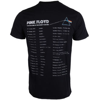 t-shirt metal uomo Pink Floyd - Dark Side of the Moon 1972 Tour - ROCK OFF, ROCK OFF, Pink Floyd