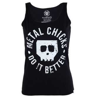 superiore donne Metal chicks fare esso meglio - Skull, METAL CHICKS DO IT BETTER