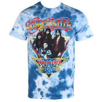 t-shirt metal uomo Aerosmith - World Tour Triangle - BAILEY, BAILEY, Aerosmith