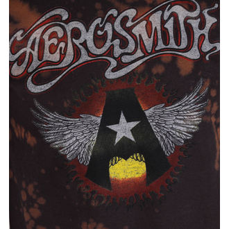 t-shirt metal uomo Aerosmith - Flying A - BAILEY, BAILEY, Aerosmith