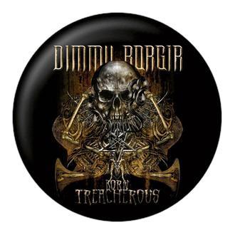 Distintivo DIMMU BORGIR - Born treacherous - NUCLEAR BLAST, NUCLEAR BLAST, Dimmu Borgir