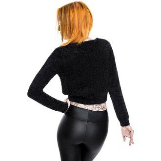 Maglione da donna KILLSTAR - Black Out Fuzzy Crop, KILLSTAR