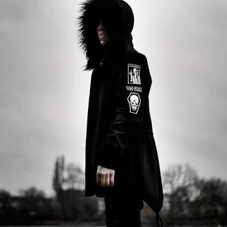 giacca primaverile / autunnale donna unisex - Nekropolis Parka - KILLSTAR, KILLSTAR