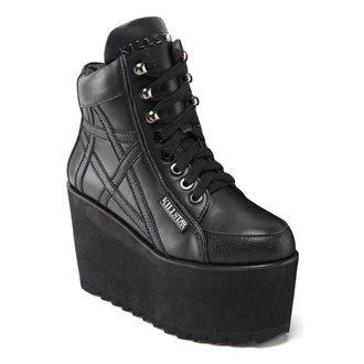 scarpe con cuneo donna - Malice - KILLSTAR, KILLSTAR