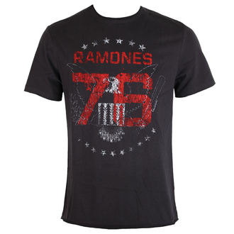 t-shirt metal uomo Ramones - Charcoal - AMPLIFIED, AMPLIFIED, Ramones