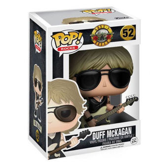 Action Figure - Guns N' Roses - Duff McKagan, POP, Guns N' Roses