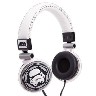 cuffie Star Wars - Storm Trooper - WHT, NNM, Star Wars