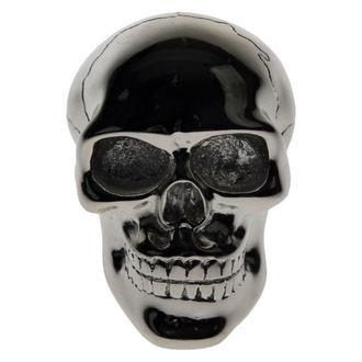 decorazione -capo ingranaggio leva- Argento Cranio Ingranaggio - DANNEGGIATO, Nemesis now