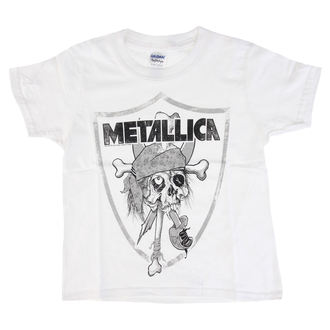 t-shirt metal uomo bambino Metallica - Pirate -, Metallica