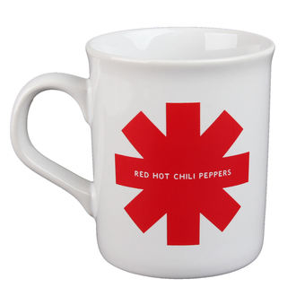 Tazza Red Hot Chili Peppers - Red Asterisk - bianca, Red Hot Chili Peppers