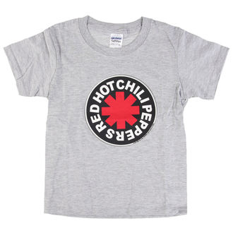 t-shirt metal uomo bambino Red Hot Chili Peppers - Logo in Circle Grey -, Red Hot Chili Peppers