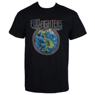 t-shirt metal uomo Foo Fighters - Globe - LIVE NATION, LIVE NATION, Foo Fighters