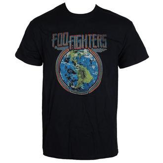t-shirt metal uomo Foo Fighters - Globe - LIVE NATION, LIVE NATION, Foo Fighters