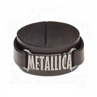 Braccialetto Metallica - ALCHEMY GOTHIC - Logo, ALCHEMY GOTHIC, Metallica