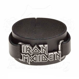 Braccialetto Iron Maiden - ALCHEMY GOTHIC - Logo, ALCHEMY GOTHIC, Iron Maiden