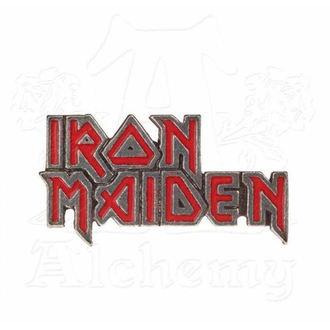 bordeggiare Iron Maiden - ALCHEMY GOTHIC - Smalto Logo, ALCHEMY GOTHIC, Iron Maiden