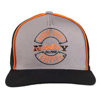 berretto ORANGE COUNTY CHOPPERS - Paul Senior - Nero / Grigio / arancia, ORANGE COUNTY CHOPPERS